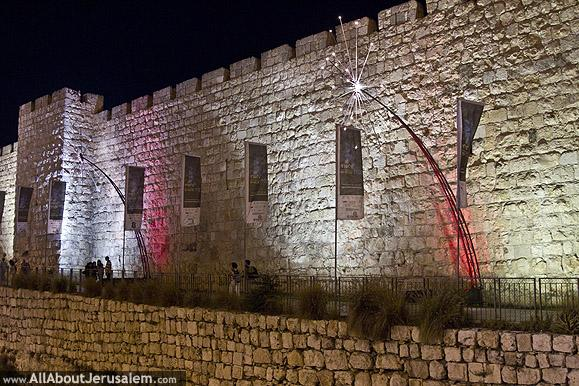 old_city_walls_by_night
